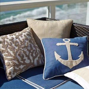 Pier 1 Raised Coral Reef Pillow